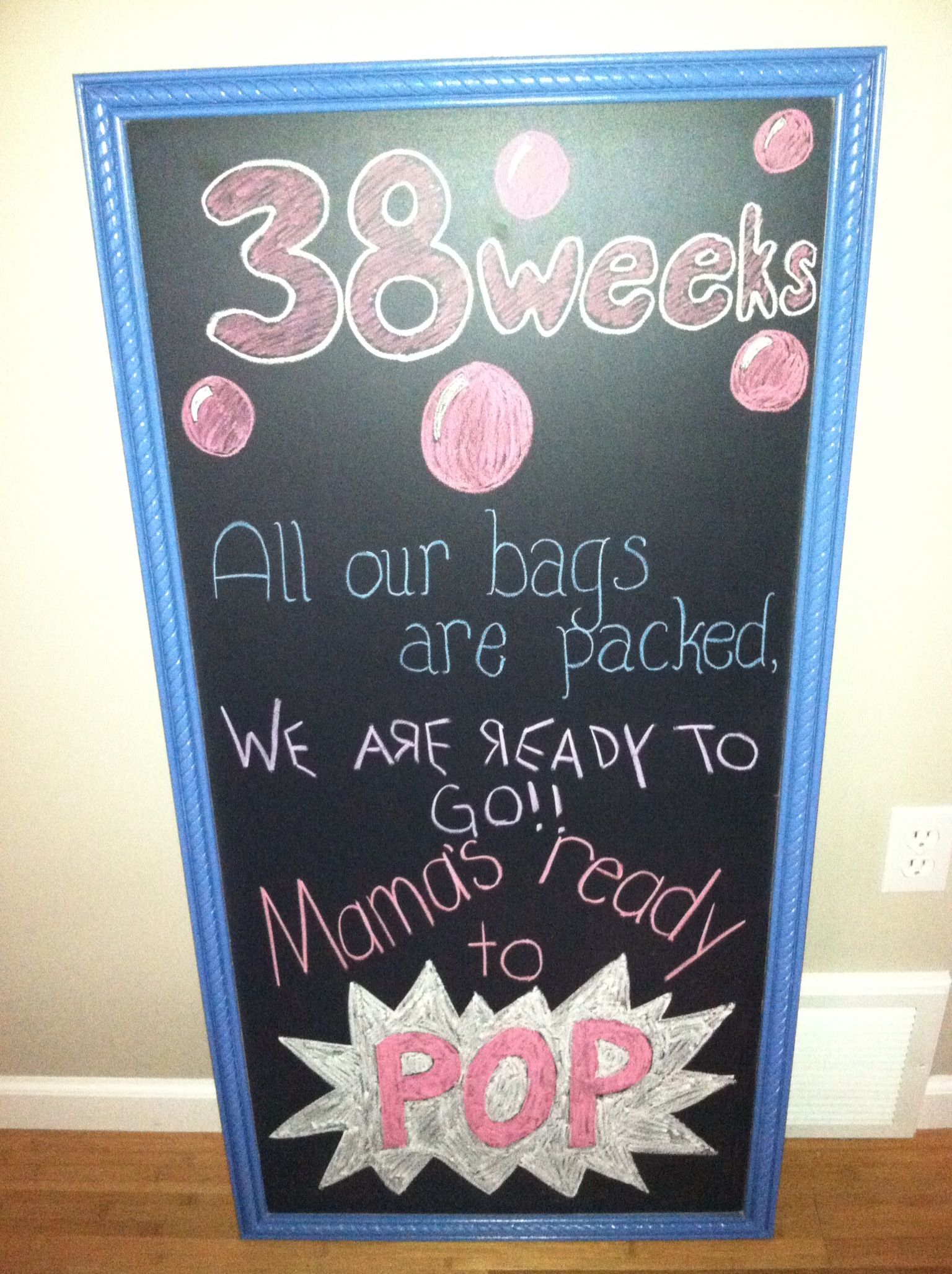 38 weeks pregnancy board Knocked Up Pinterest