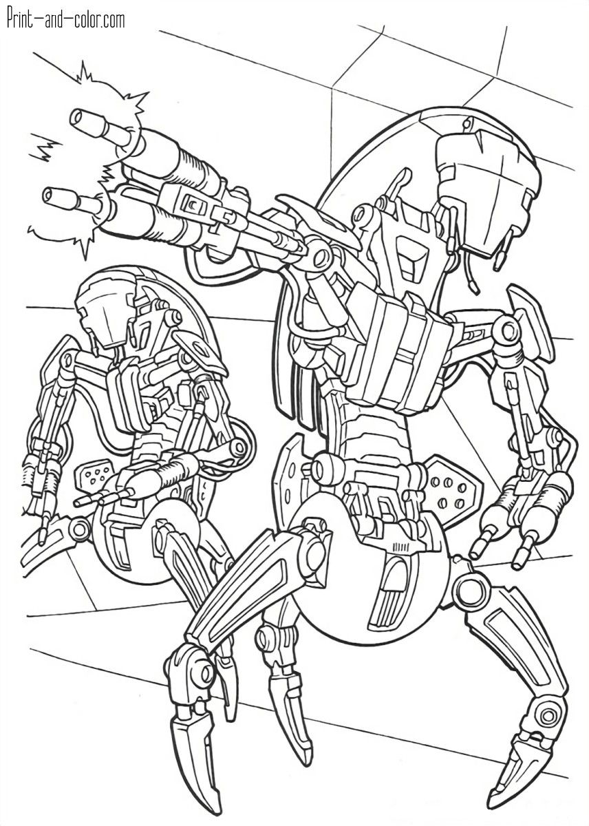 Pin By Lexx Pell On Pencil Drawing Star Wars Coloring Book Star Wars Coloring Sheet Monster Coloring Pages