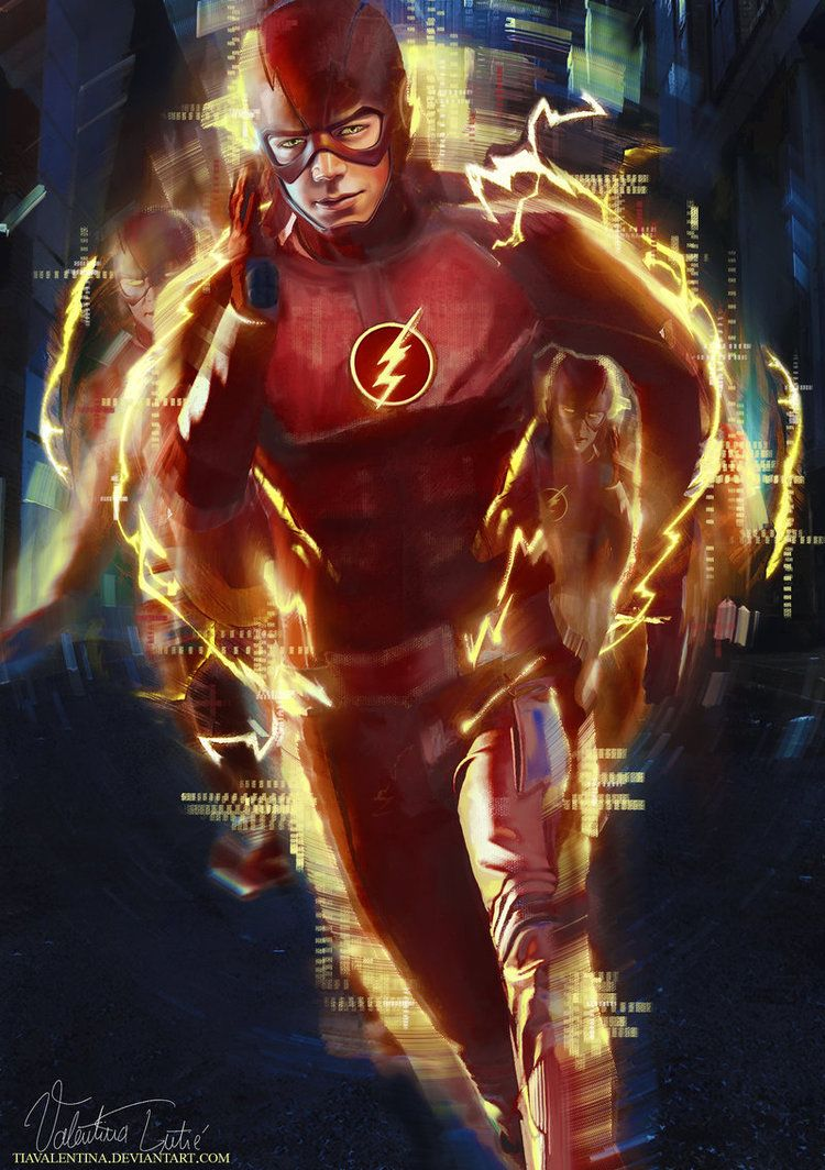 The Flash by TIAvalentina
