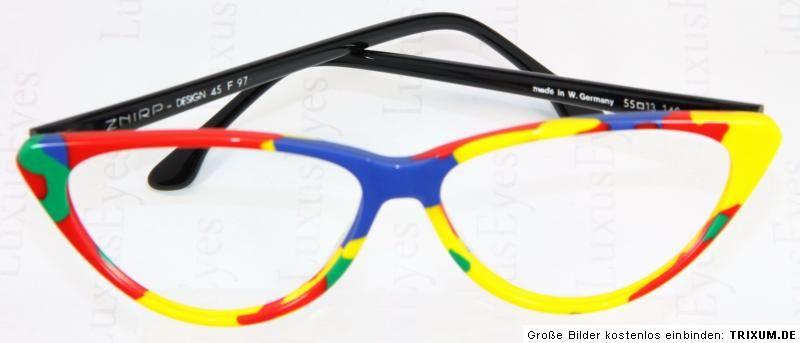 Znirp Design Brille Lunettes Eyeglasses Multicolor Vintage Glasses Brille Coole Brillen Brillenschlange