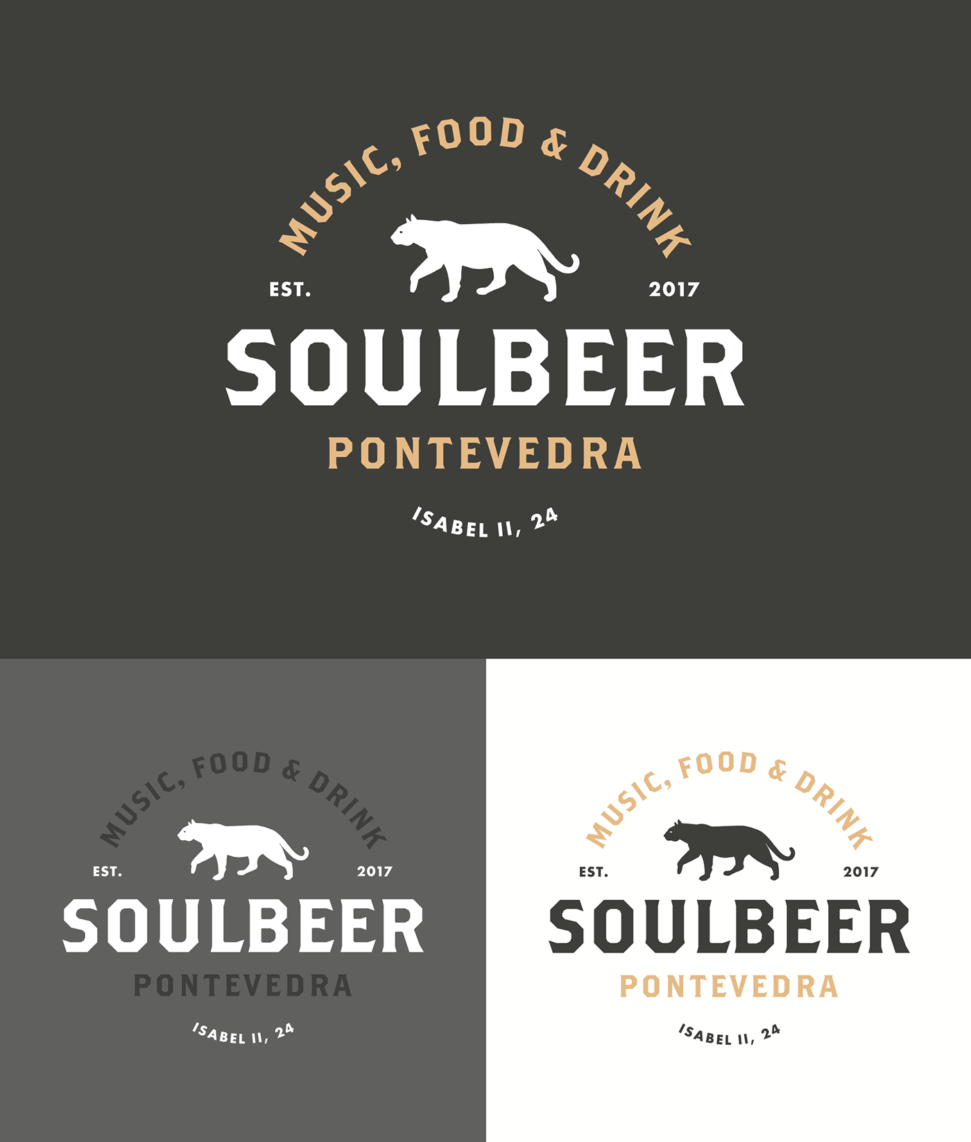 Soulbeer — Brand Identity on Behance Bachmaier Pinterest