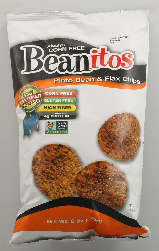 Beanitos Pinto Bean and Flax Chips #VitacostNFCA