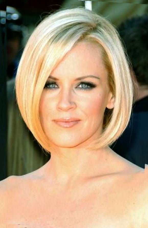 Best Short Bob Hairstyles With Side Bangs For Blonde Thin Hair