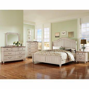 Savannah 6 piece Queen Bedroom Set Bedroom furniture