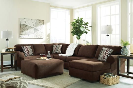 Jayceon Java 3PC Sectional Art Van Furniture