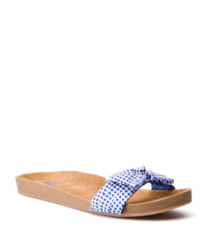 Blue & White sandals [Pull and Bear]