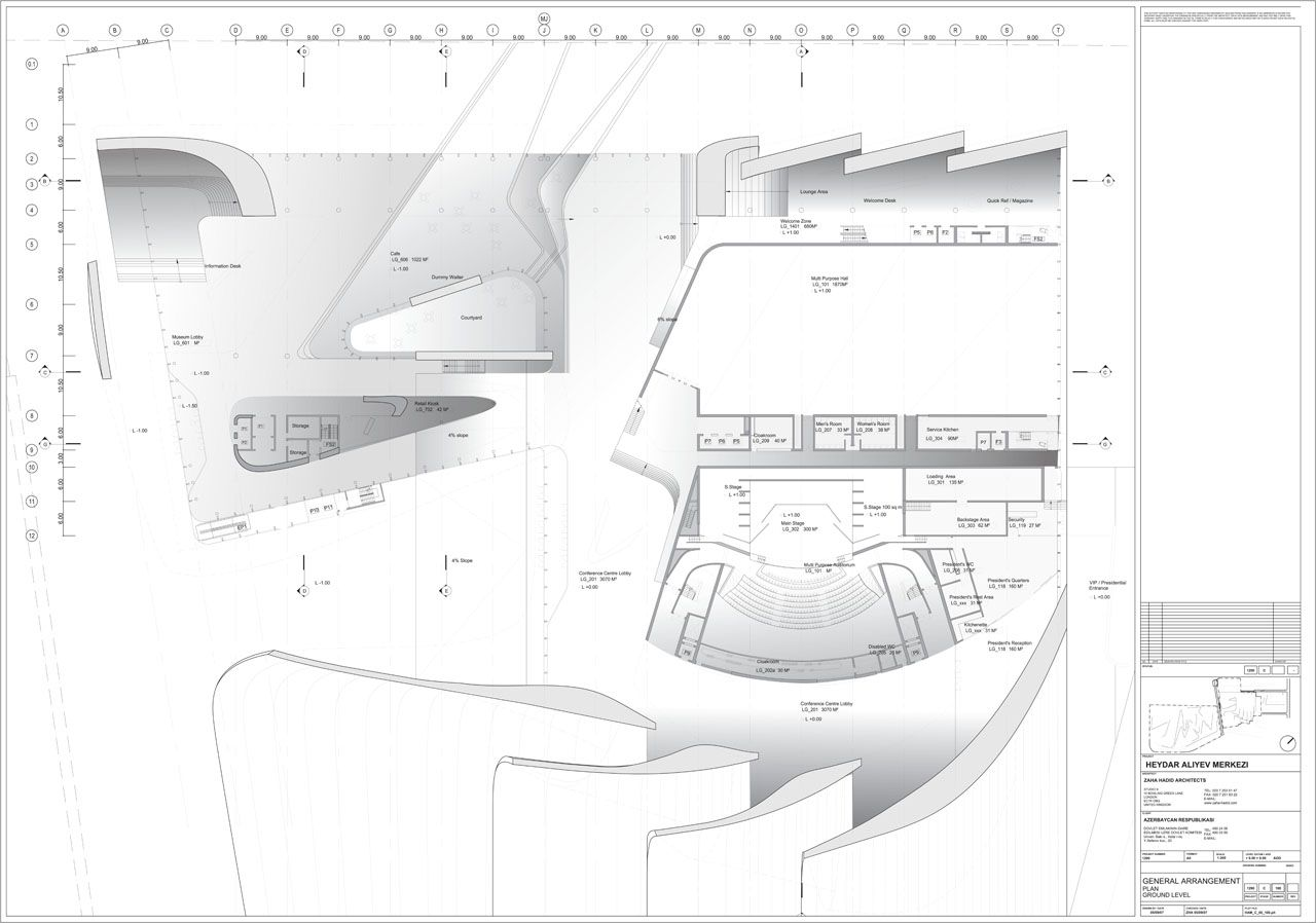 Heydar Aliyev Center | + PUBLIC | Pinterest | Zaha Hadid, Baku Azerbaijan  And Cultural Center