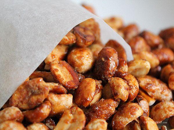 Copycat Sugar Coated Street Nuts