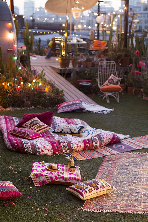 Flamingo Backyard Decor