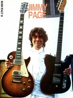 music italy 70: LED ZEPPELIN : JIMMY PAGE Di Giuseppe Barbieri