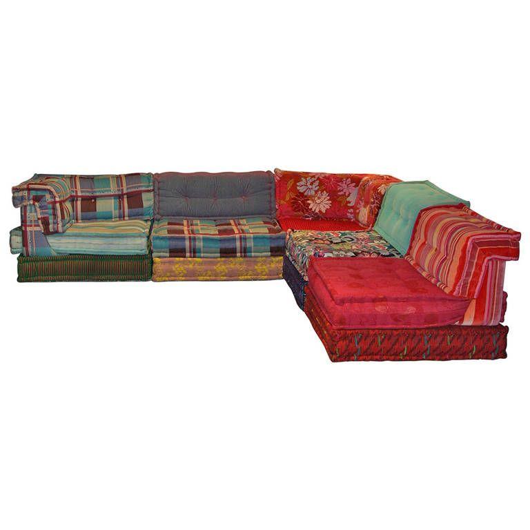 mah jong sofa by hans hopfer modular sofa. Black Bedroom Furniture Sets. Home Design Ideas