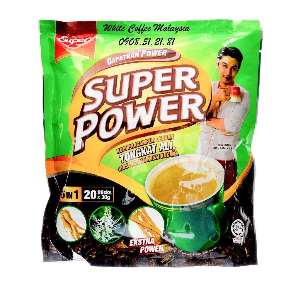 Cà phê Super Power 6in1 Tongkat Ali Cà phê