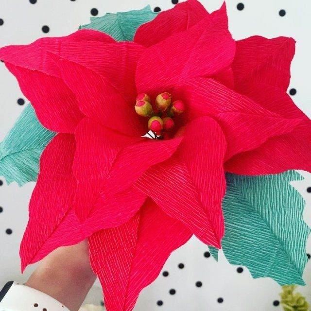How to Make Giant Hawaiian Paper Flowers #crepepaperroses