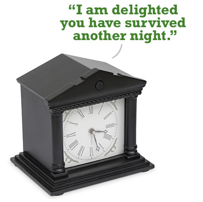 Sir Madam Alarm Clock By Voco