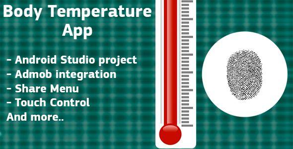 Finger Body Temperature Prank + Admob ads Mobile app