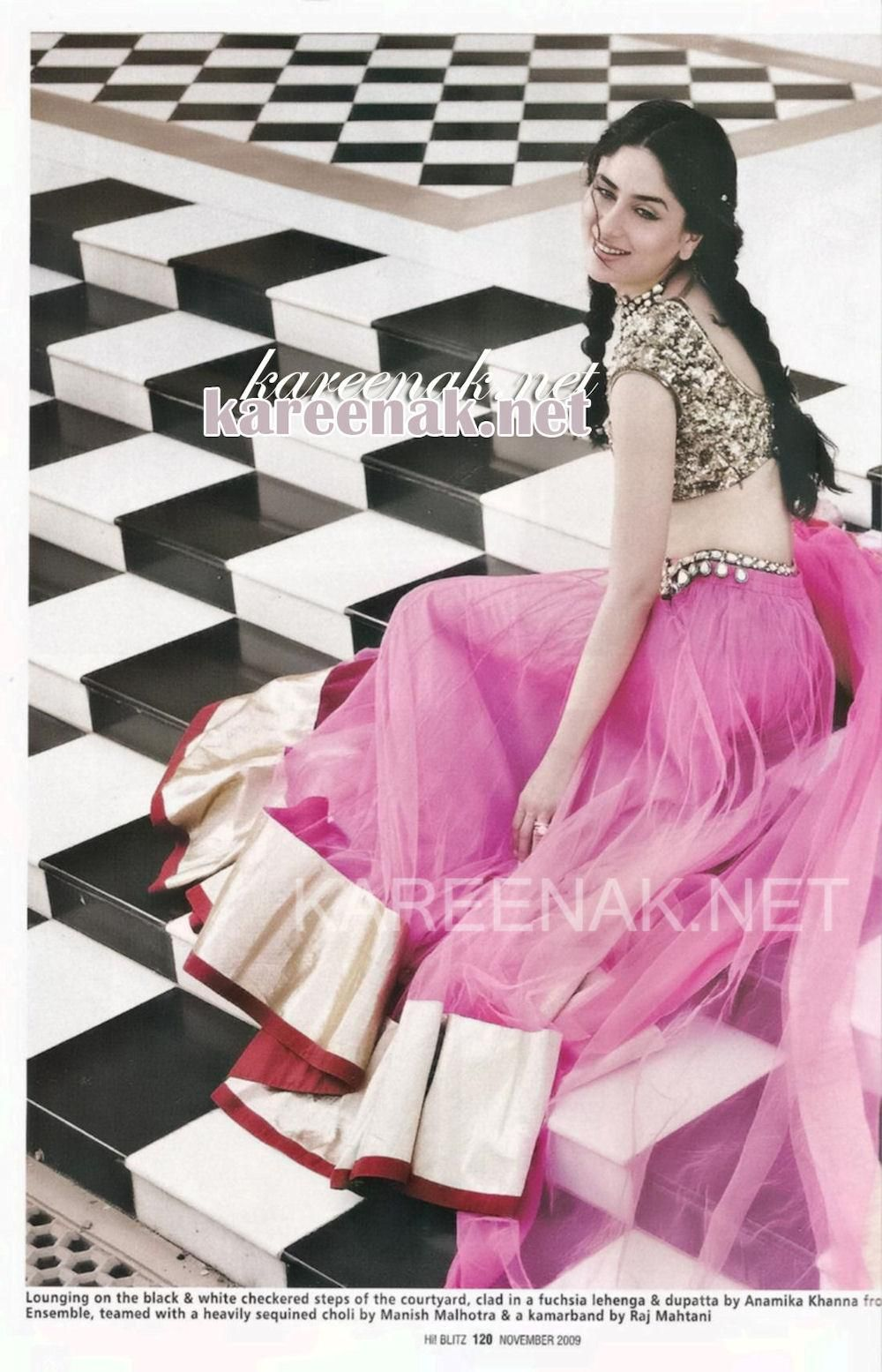 Magnífico Kareena Kapoor Traje De Boda Real Y Tradicional ...