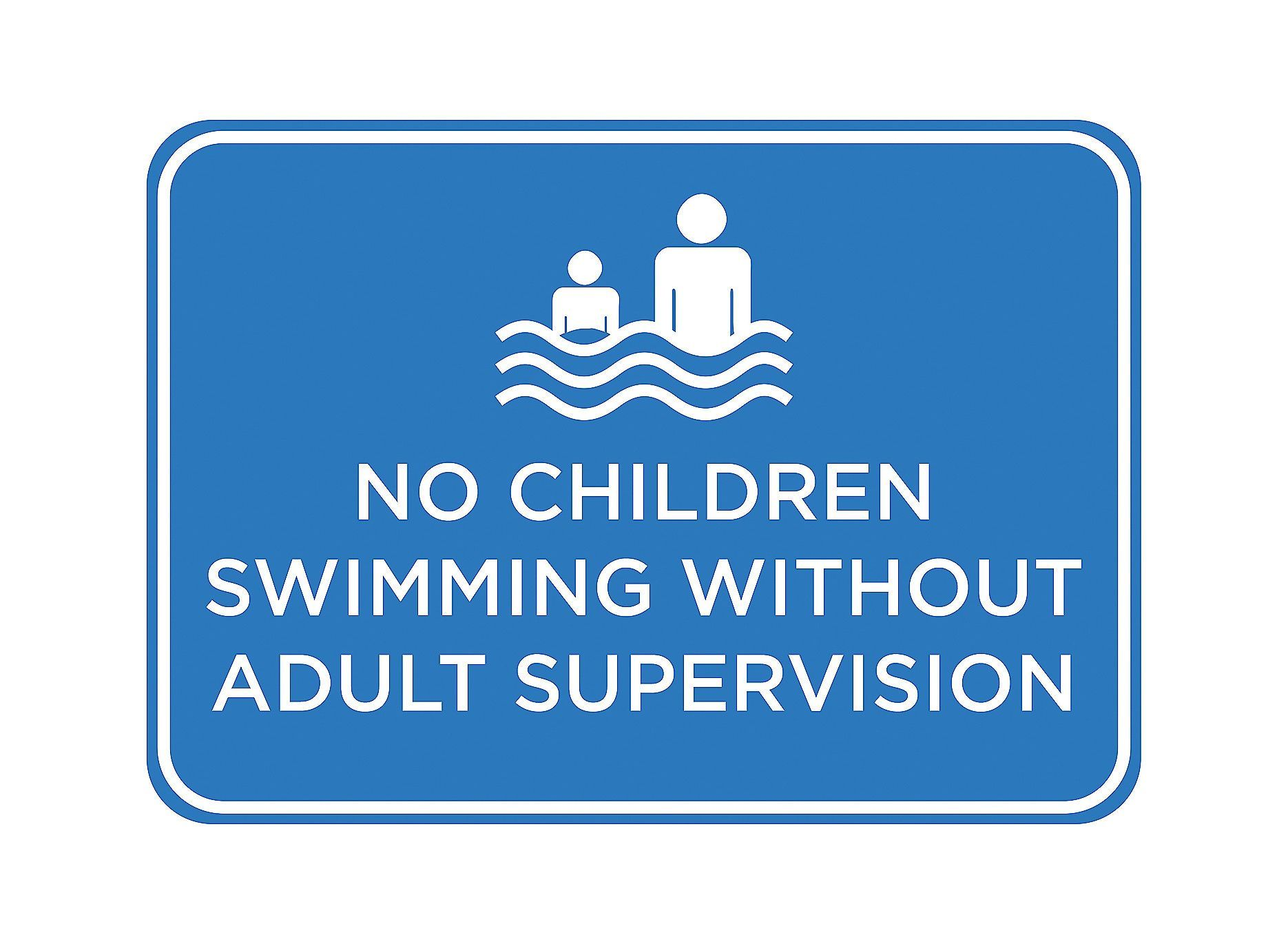 no children swimming out adult supervision swimming pool sign no children swimming out adult supervision swimming pool sign