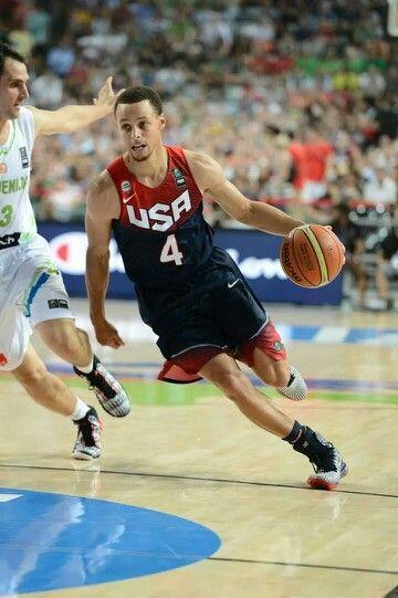 2014 Fiba World Cup Usa Vs Slovenia 9 9 14 Golden State Warriors Team Usa Basketball Usa Basketball Basketball Teams