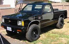 Black 89 Chevy S10 Google Search Camionetas Chevrolet Camioneta Camioneta Chevrolet