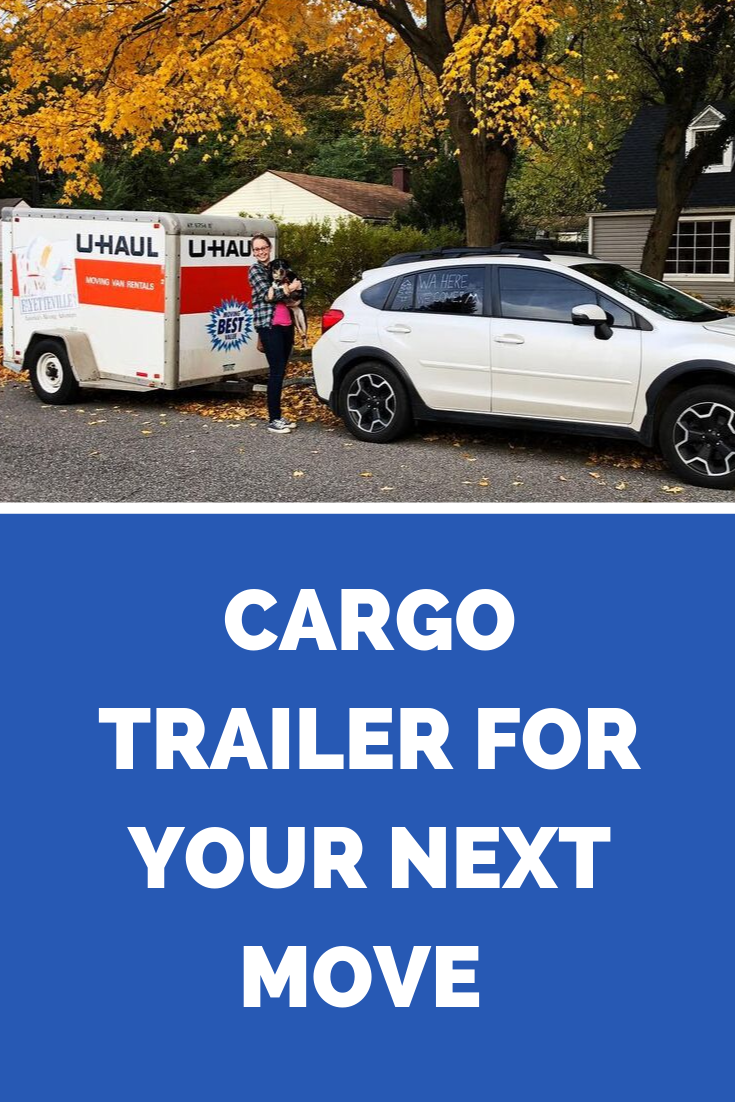 Moving Day Ready This Family Used Our Cargo Trailer During Their Move To Washington Rent Yours Here Moving Moving Trailers Cargo Trailers Best Gas Mileage