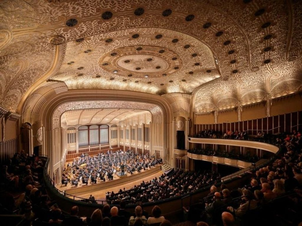 Severance Hall Seating Chart Seating Charts Concert Hall Seating
