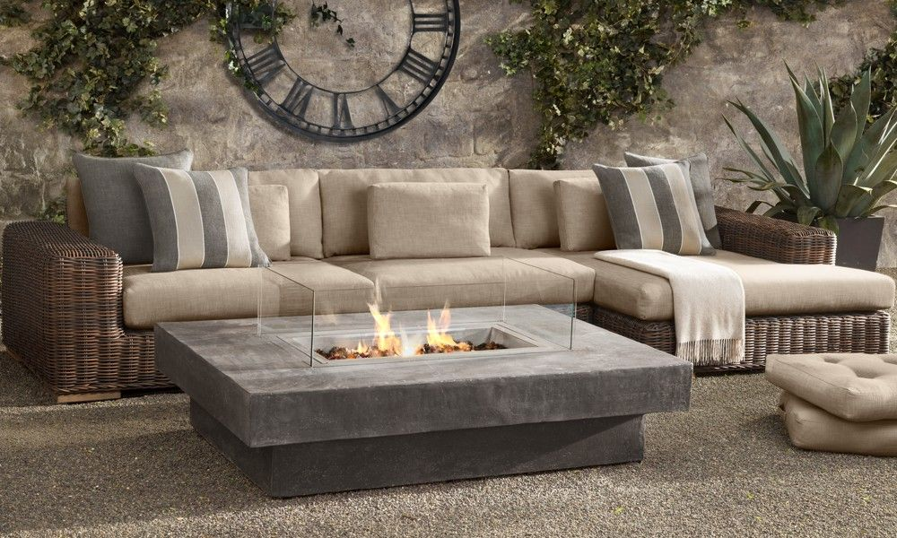amazing fire table from restoration hardware - Restoration Hardware Outdoor Furniture