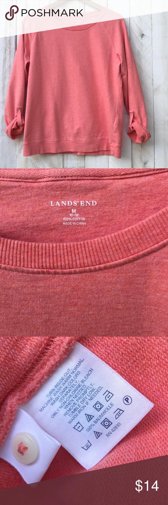 Lands End Sweatshirt Clothes Design Fashion Design Fashion Tips [ 1740 x 580 Pixel ]