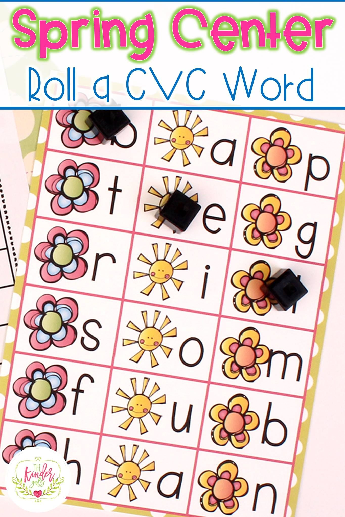 Spring Is Here - Fun Flower Activities for Math and Literacy v3.0 ...