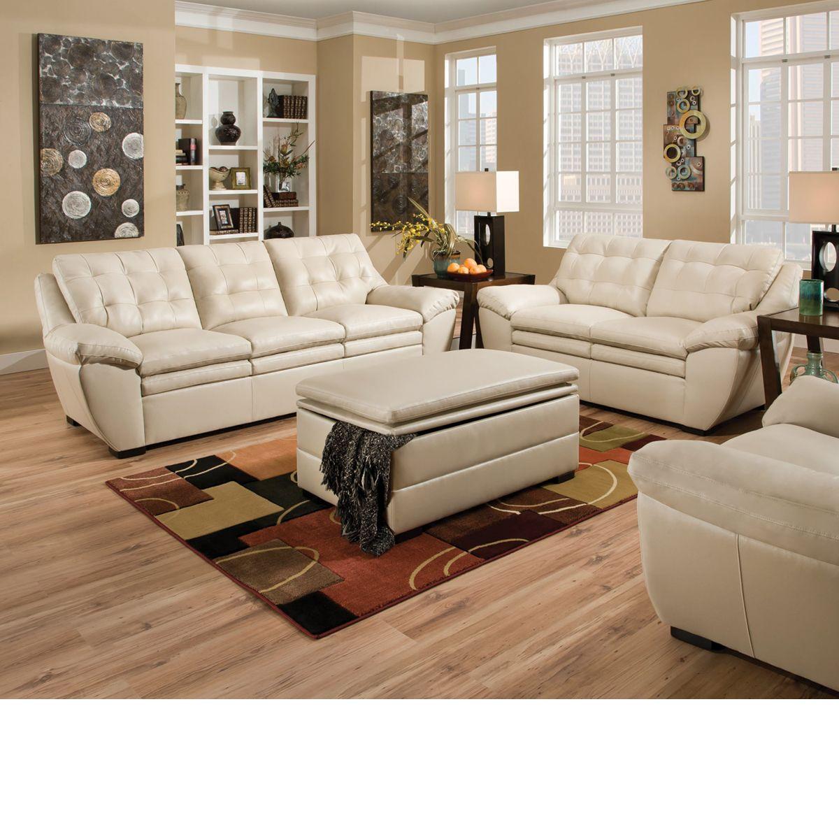 Null Furniture Leather Sofa Set Pearl Sofa