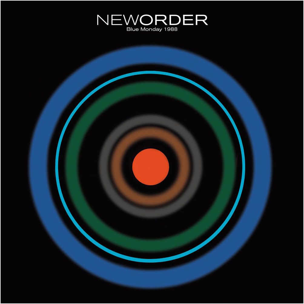 "One of my favourite dance tracks from the 80s although how we actually danced to this is anyone's guess!  New Order's ""Blue Monday 1988"" 12"" cover, by Peter Saville for Factory Records, 1988."