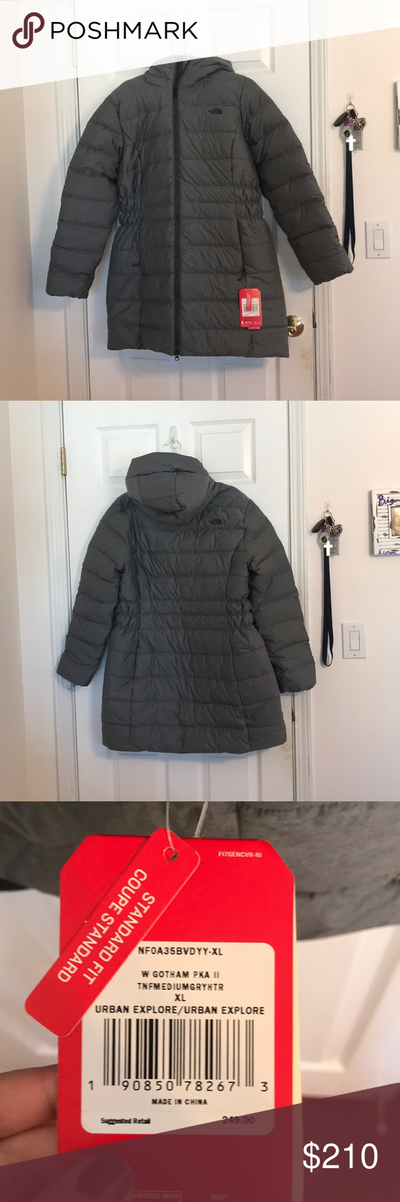 Brand New Women S Long North Face Jacket Long North Face Jacket North Face Jacket Jackets [ 1740 x 580 Pixel ]