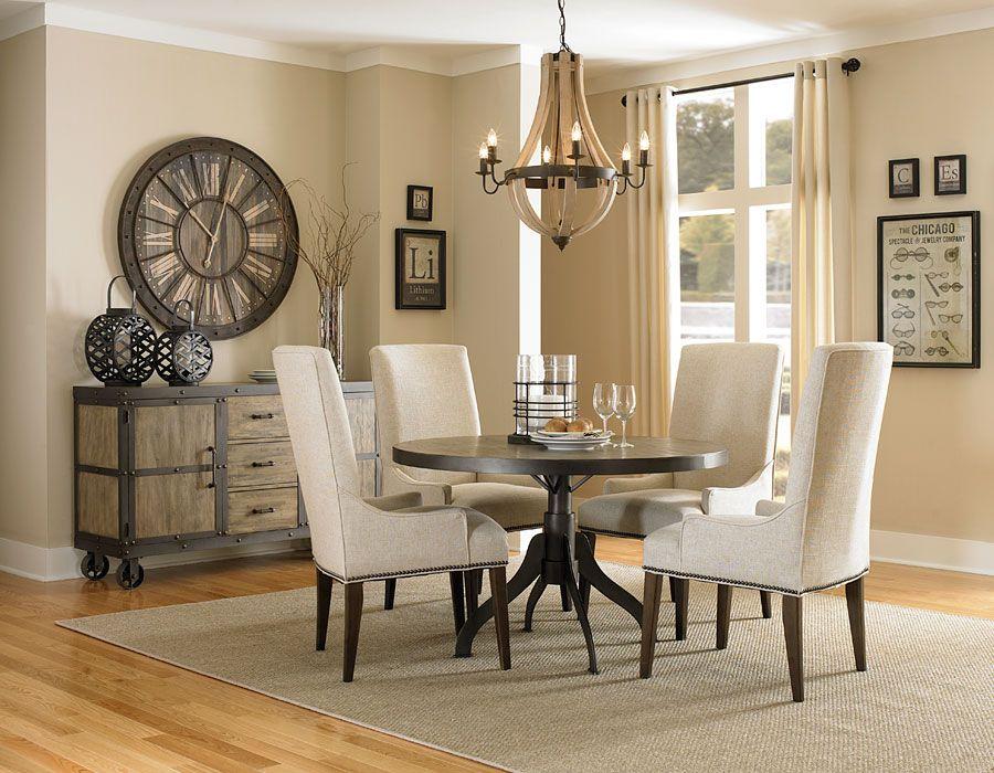 Mesas de centro de sala redonda grande buscar con google - Decoracion sillas comedor ...