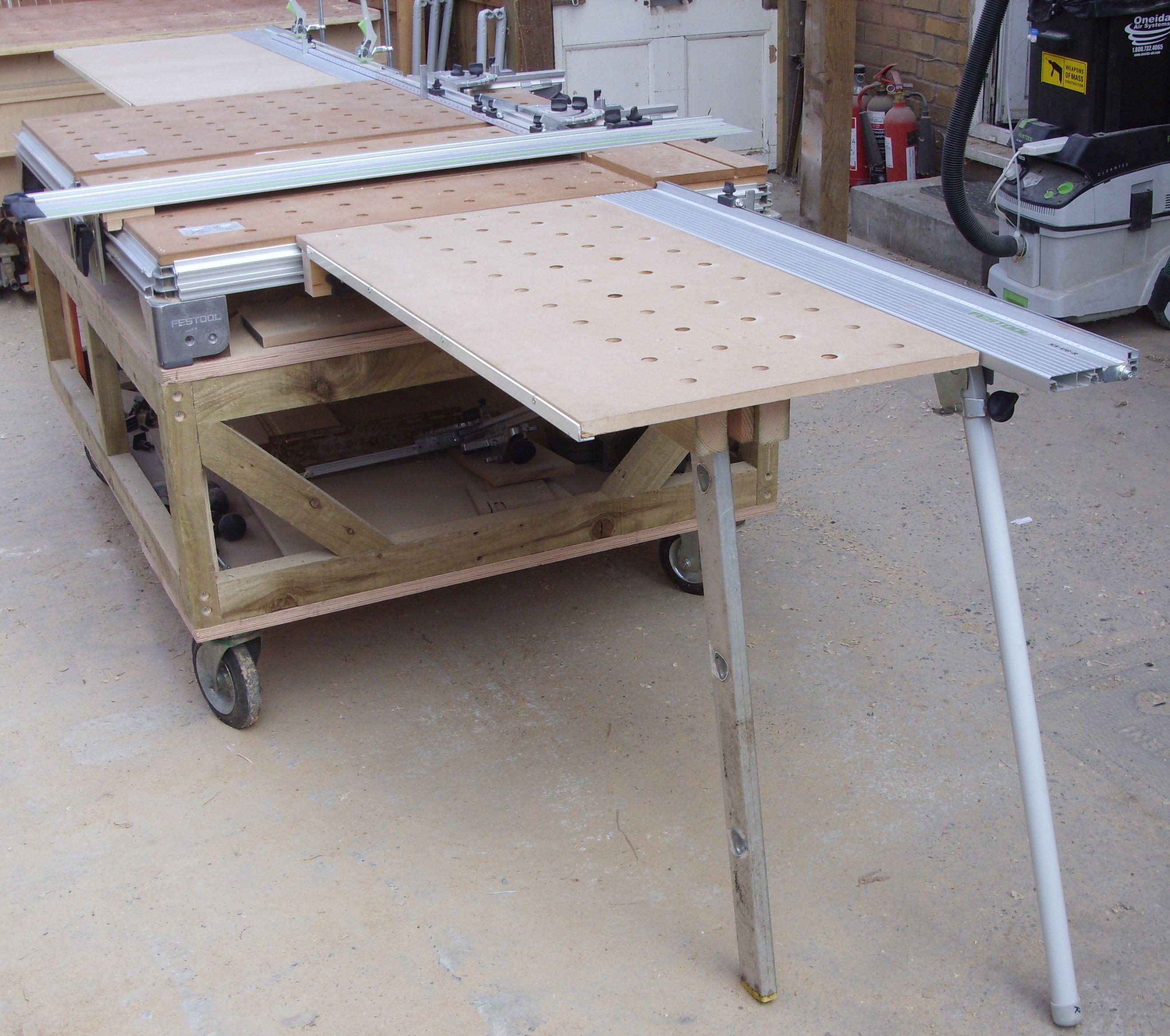 1 mft table extensions festool mft workbench for Table festool