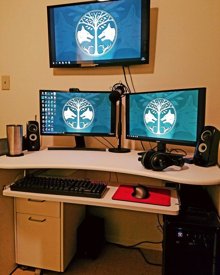 streaming broadcasting twitch pc gaming setup gaming pinterest pc gaming setup. Black Bedroom Furniture Sets. Home Design Ideas