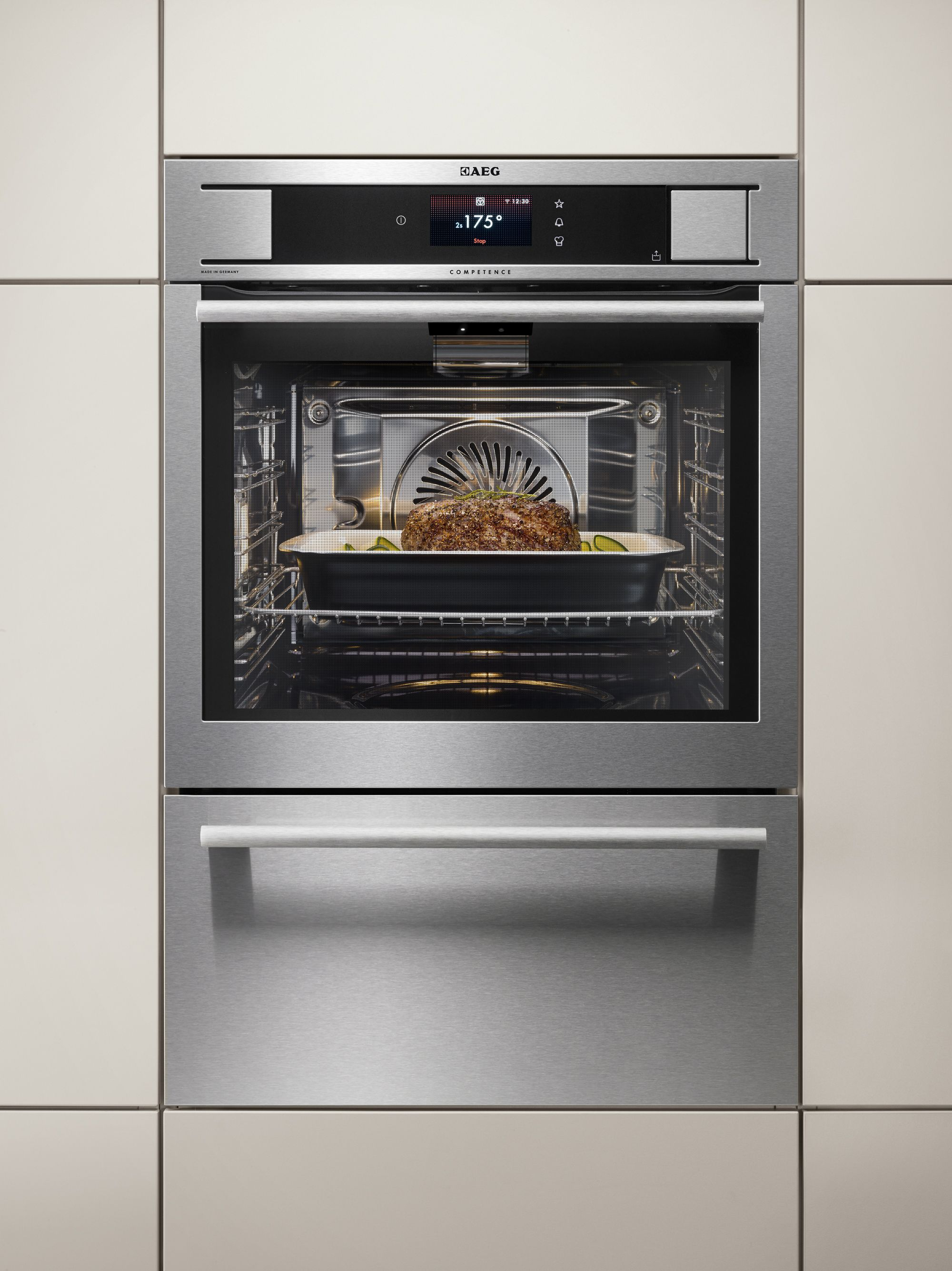 Højmoderne AEG-ProCombi-Plus-Smart Electrolux oven with wifi & camera | Dream GK-03