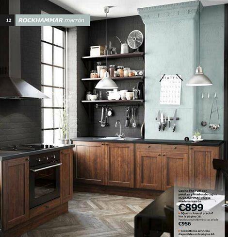 cocinas con madera - Buscar con Google