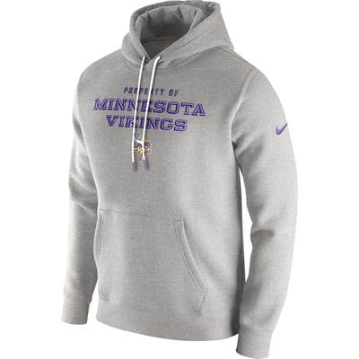 online store 561ec d2032 Men's Minnesota Vikings Nike Gray Stadium Classic Club ...