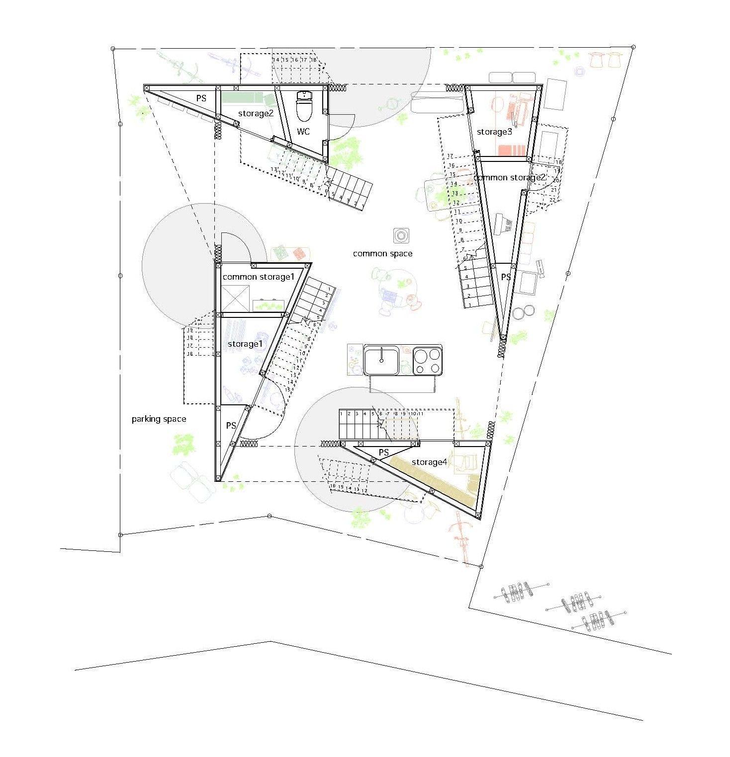 Gallery Of Yokohama Apartment On Design Partners