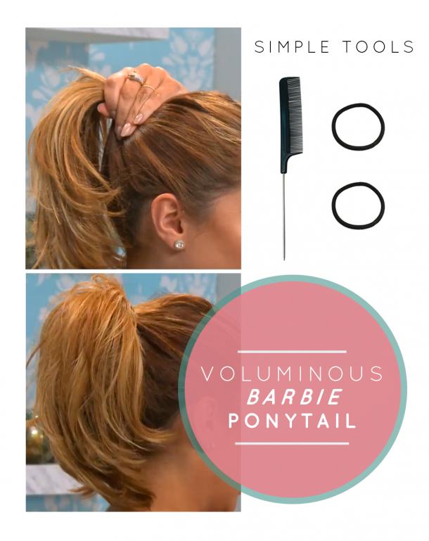 How To Get The Perfect High Ponytail Modamob So I Can Make The