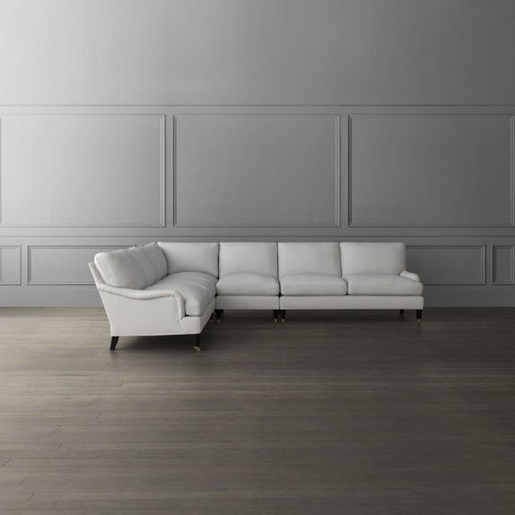 Pierce 3 Piece L Shaped Sectional Right Beverly Hills Bachelor
