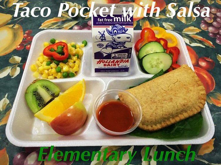 Nutrition Services Rusd On Instagram Who Is Ready For Lunch Elementary Sites Are Serving A Taco Pocket With Salsa Taco Pockets School Cafeteria School Food