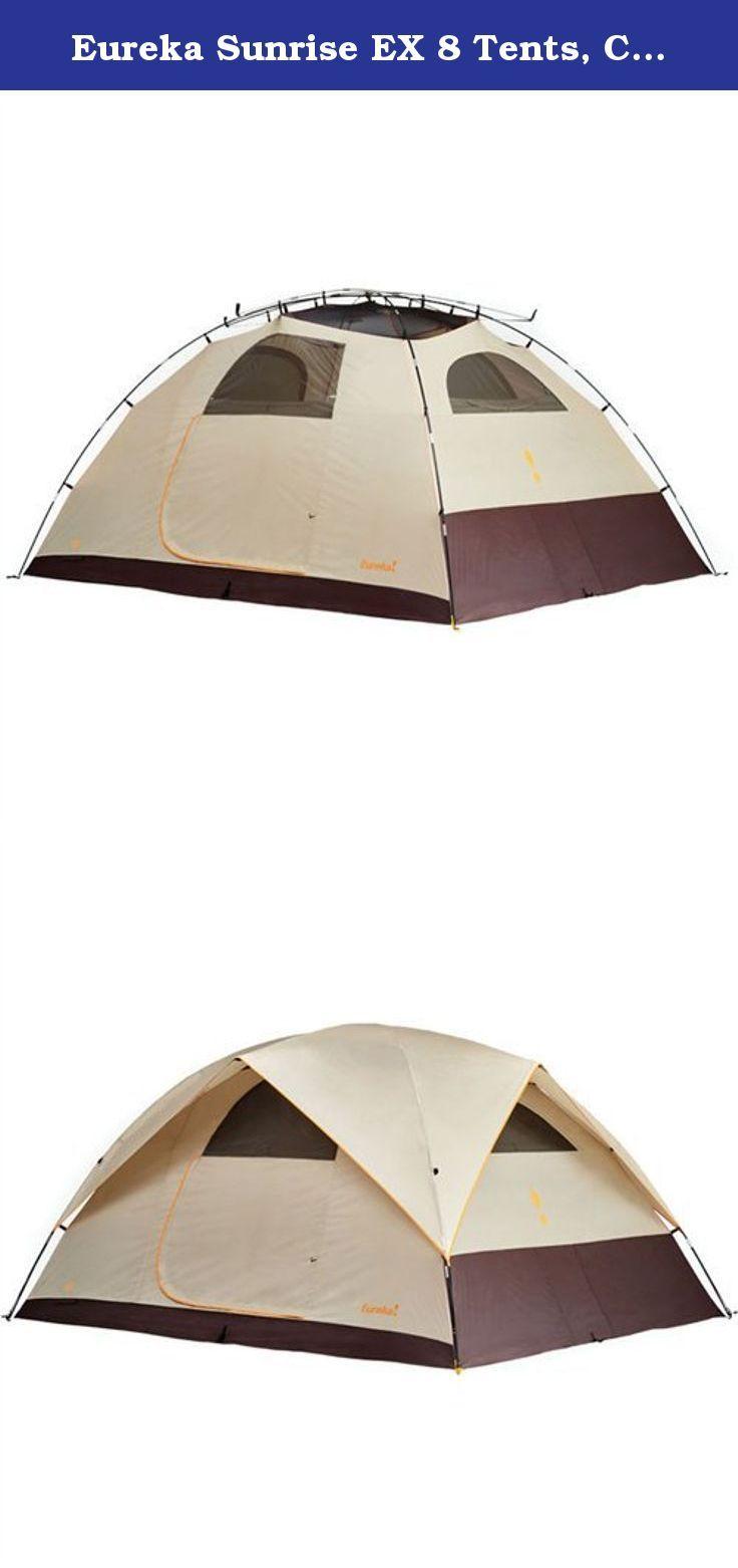 Eureka Sunrise EX 8 Tents Cement/Java/Orange. Room with a view  sc 1 st  Pinterest & Eureka Sunrise EX 8 Tents Cement/Java/Orange. Room with a view ...