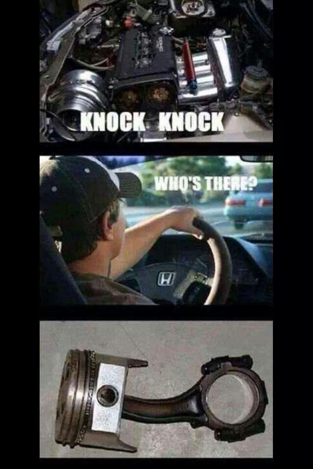 Knock Knock The Joke S On Honda Love This Pinterest