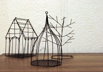 Very Simple Wire Craft Projects | wire crafts | Pinterest | Wire ...