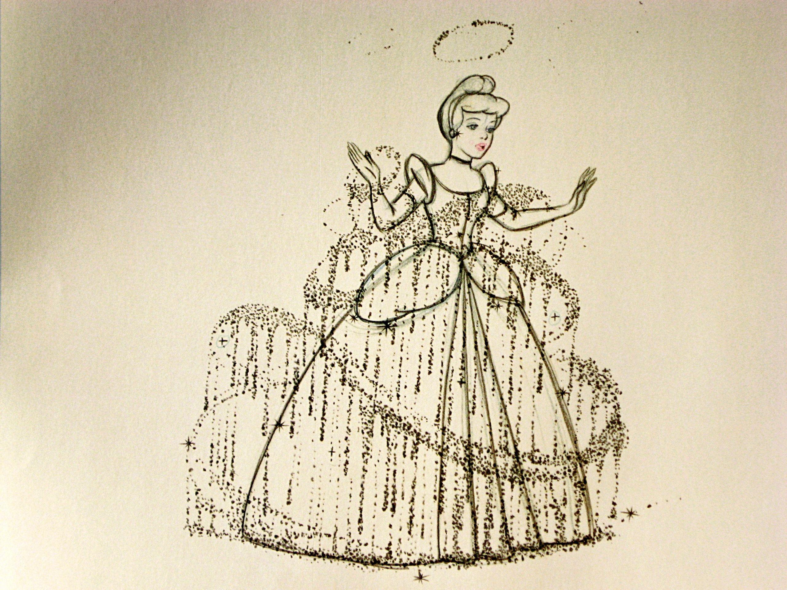cinderella sketch on pinterest