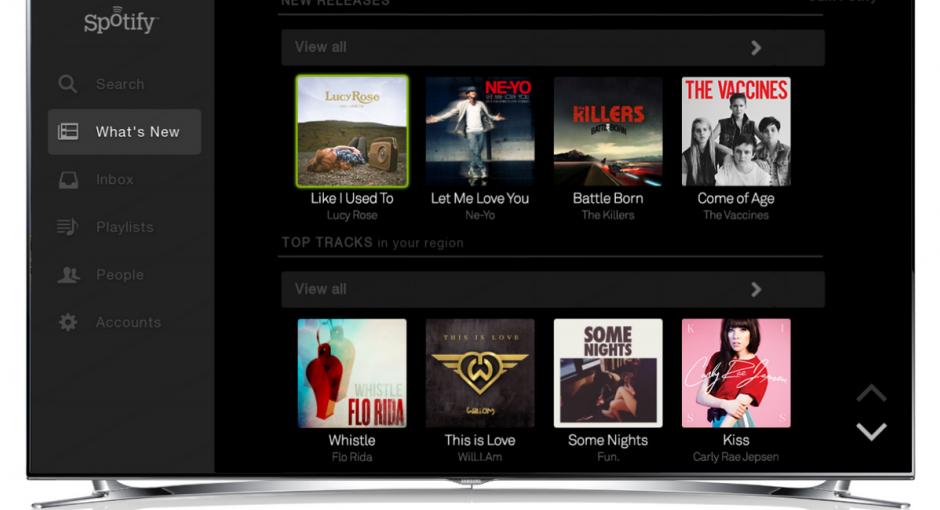 Το Spotify στις Smart TVs της Samsung The Gang Tv