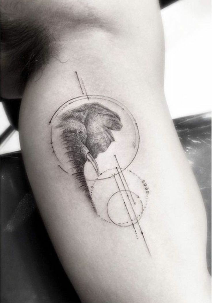 Elephant Tattoo – Symbols and Meanings – #Meaning #Elephants #symbol #Symbols #Tattoo