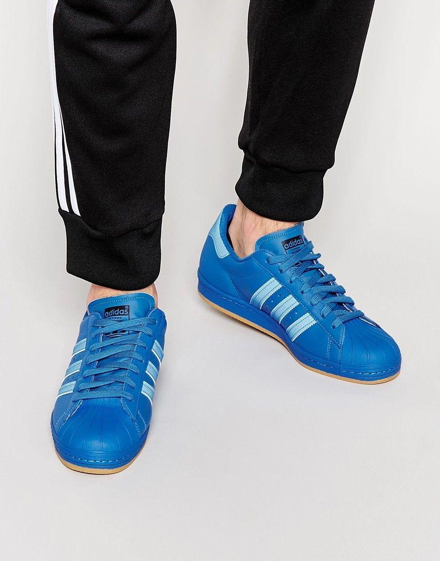 Buy Men Shoes / Adidas Originals Superstar 80s Reflective Trainers
