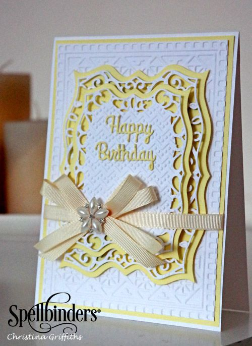 Labels Forty Happy Birthday Card by Christina Griffiths