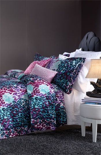 Diane Von Furstenberg Animal Garden Duvet Cover Nordstrom I Love This But Purple Leopard Print Might Not Be In My Future